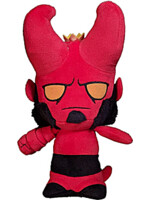 Plyšák Hellboy s rohy