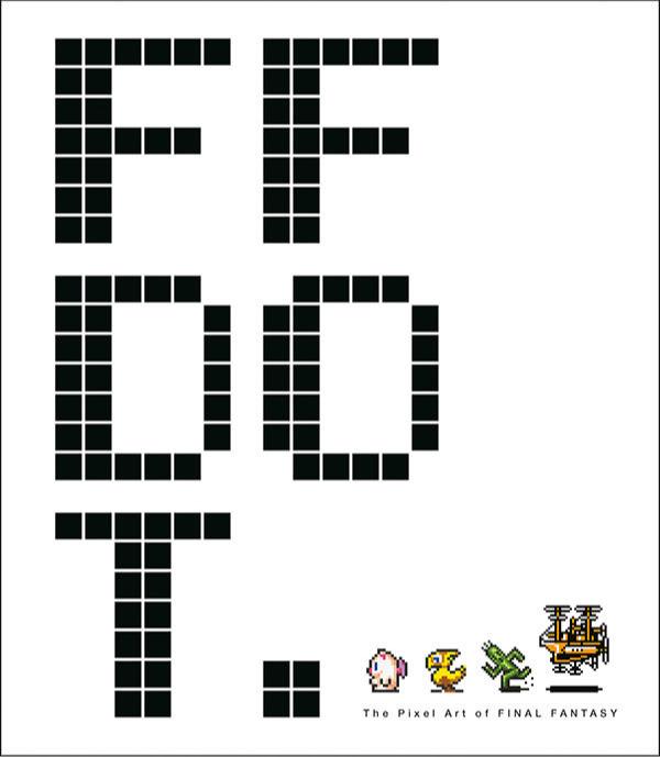 Kniha FF DOT: The Pixel Art of Final Fantasy (PC)