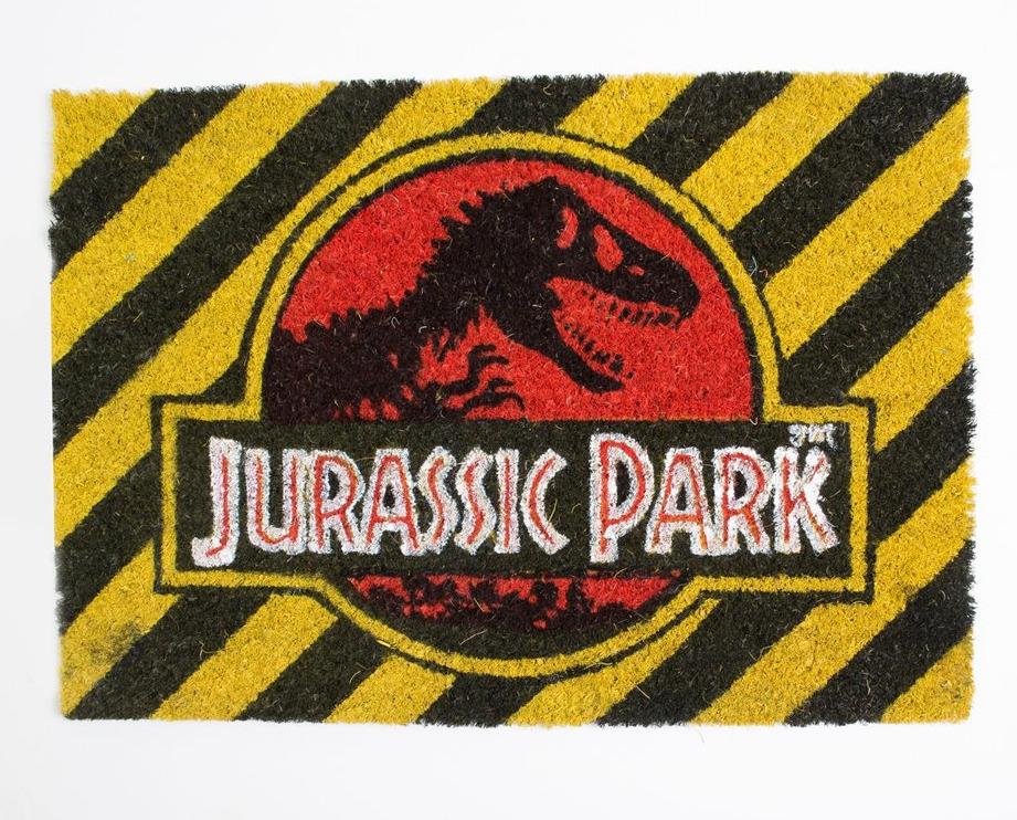 Rohožka Jurassic Park - Warning (PC)