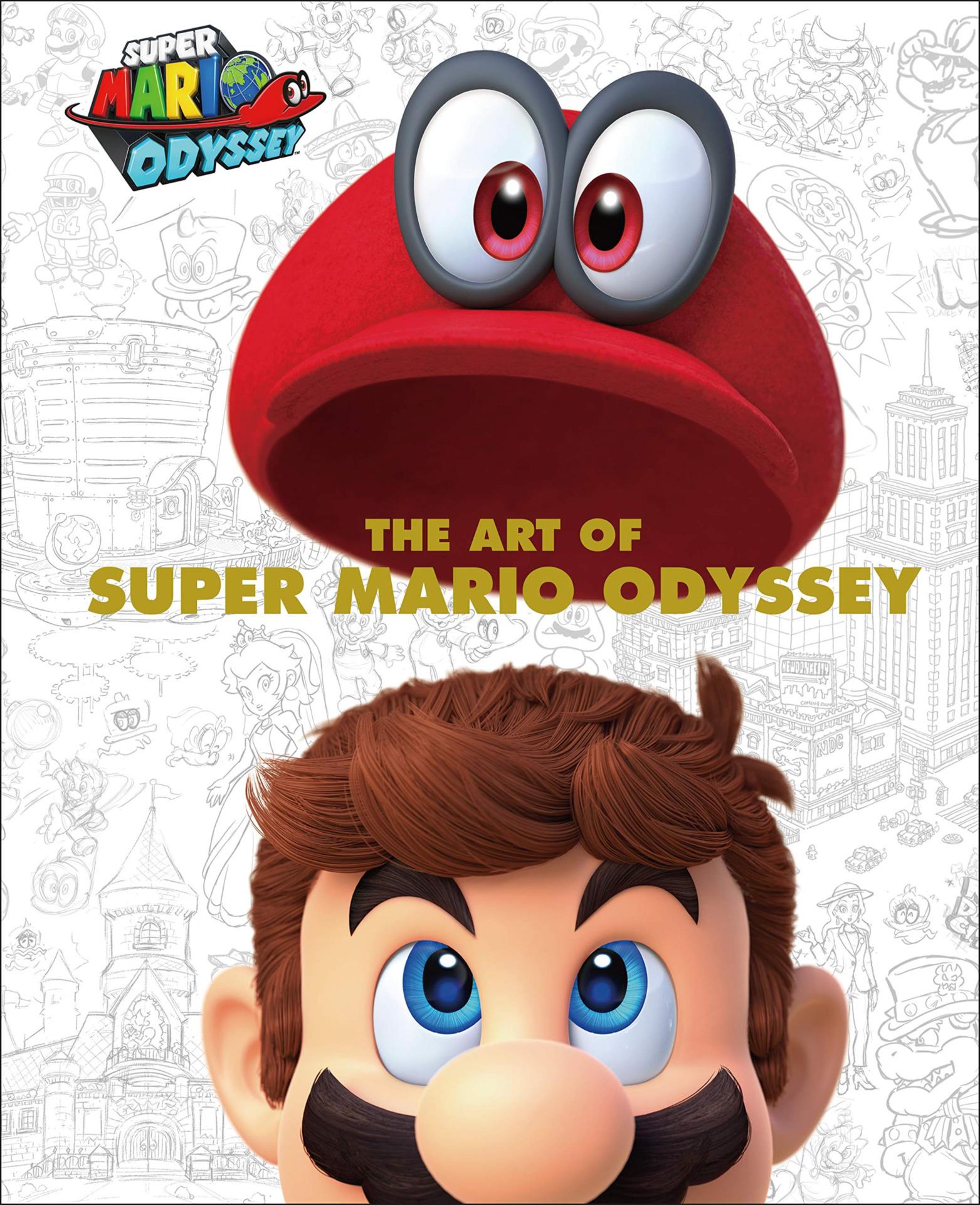 Kniha The Art of Super Mario Odyssey (PC)