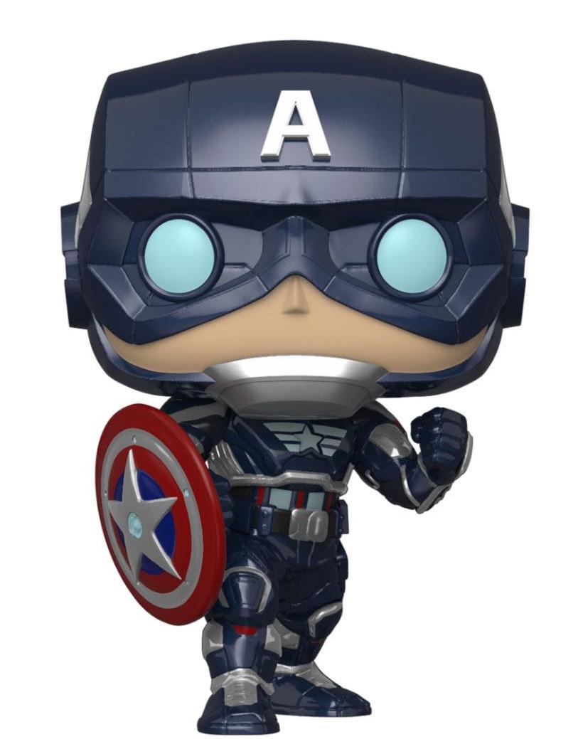 Figurka Marvel's Avengers - Captain America (Funko POP! Games 627) (PC)