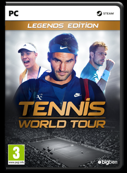 Tennis World Tour Legends Edition (PC)