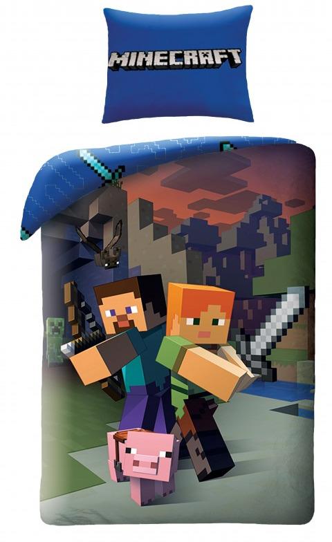 Povlečení Minecraft - Heroes (PC)