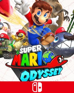 Super Mario Odyssey (Switch DIGITAL) (SWITCH)