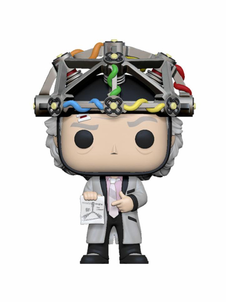 Figurka Back to the Future - Doc with Helmet (Funko POP! Movies) (PC)