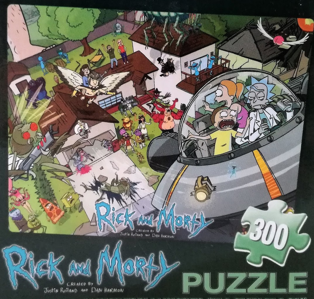 Puzzle Rick and Morty (PC)
