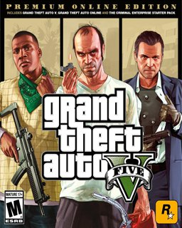 Grand Theft Auto V Premium Online Edition, GTA 5 (PC DIGITAL) (PC)