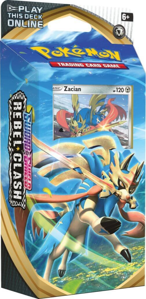 Karetní hra Pokémon TCG: Sword and Shield Rebel Clash - Zacian (Starter set) (PC)