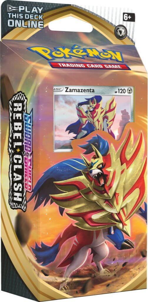 Karetní hra Pokémon TCG: Sword and Shield Rebel Clash - Zamazenta (Starter set) (PC)