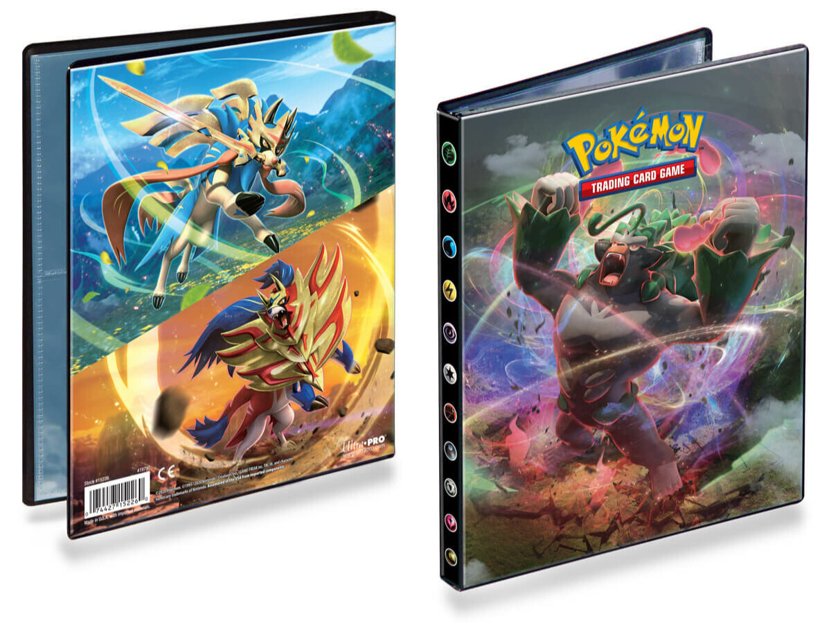 Karetní hra Pokémon TCG: Sword and Shield Rebel Clash - A5 Album (80 karet)