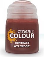 Citadel Contrast Paint (Wyldwood) - kontrastní barva - hnědá