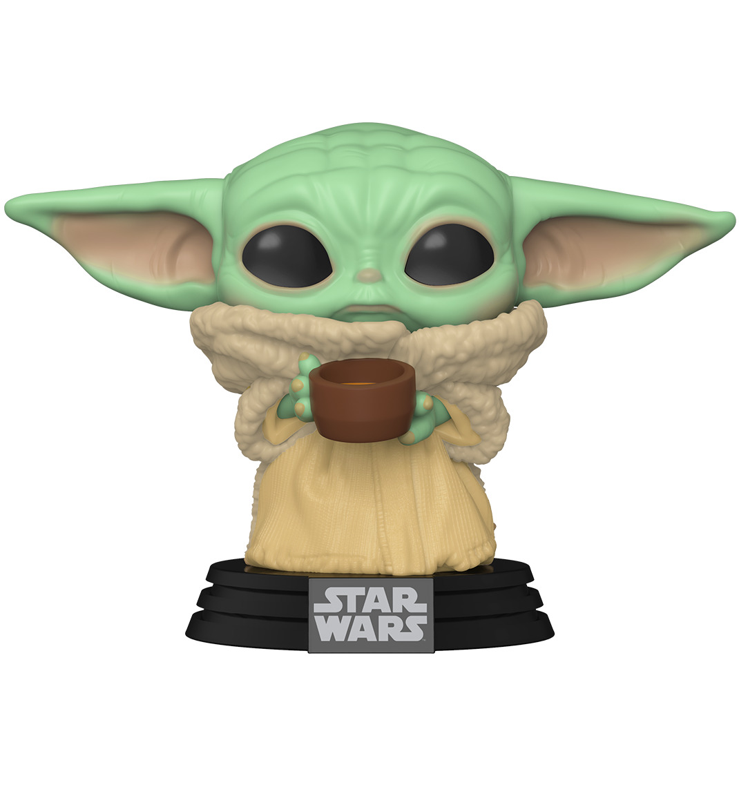 Figurka Star Wars: The Mandalorian - The Child with Cup (Funko POP! Star Wars 378) (PC)