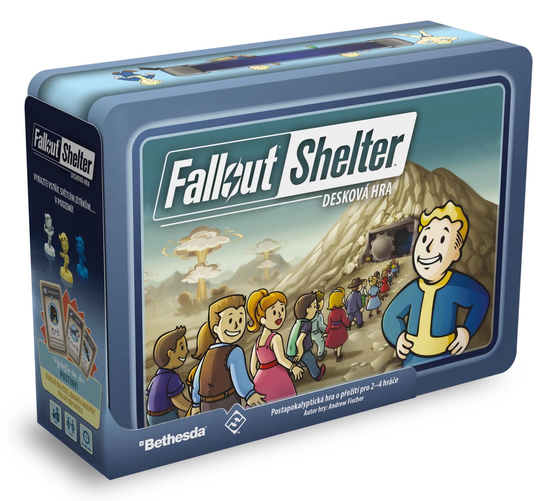 Desková hra Fallout: Shelter (PC)