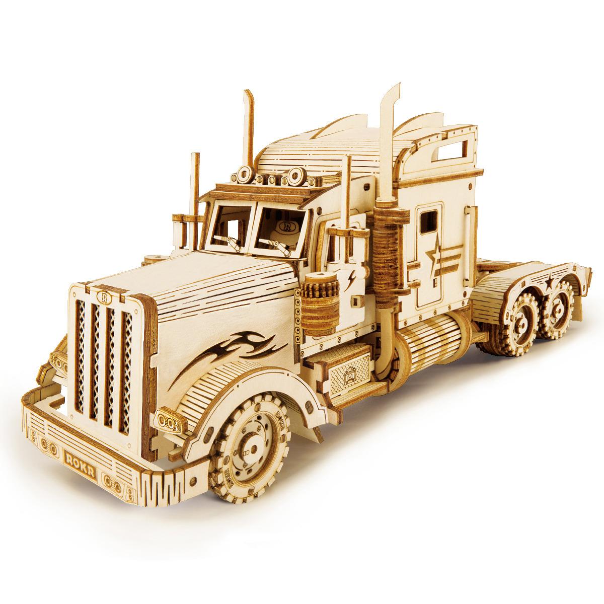 Stavebnice - Heavy Truck (dřevěná)