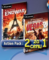 2 za cenu 1: Tom Clancy End War + Rainbow Six: Vegas 2 (PC)