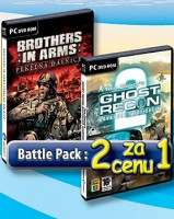 2 za cenu 1: Brothers in Arms 3 + Ghost Recon: Advanced Warfighter 2 (PC)