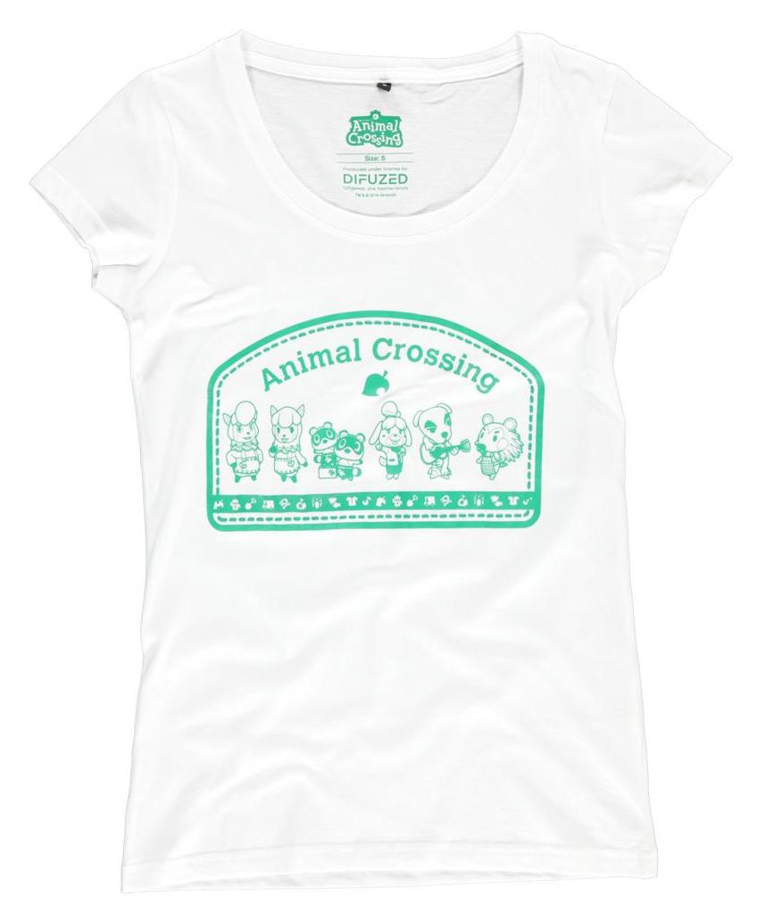 Tričko dámské Animal Crossing - Villagers (velikost M)