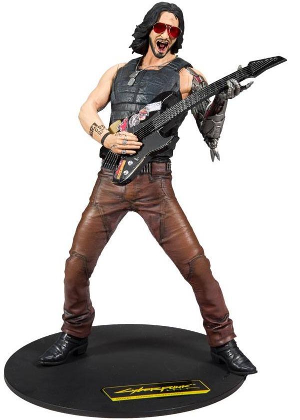 Figurka Cyberpunk 2077 - Johnny Silverhand (McFarlane, 30 cm) (poškozený obal) (PC)