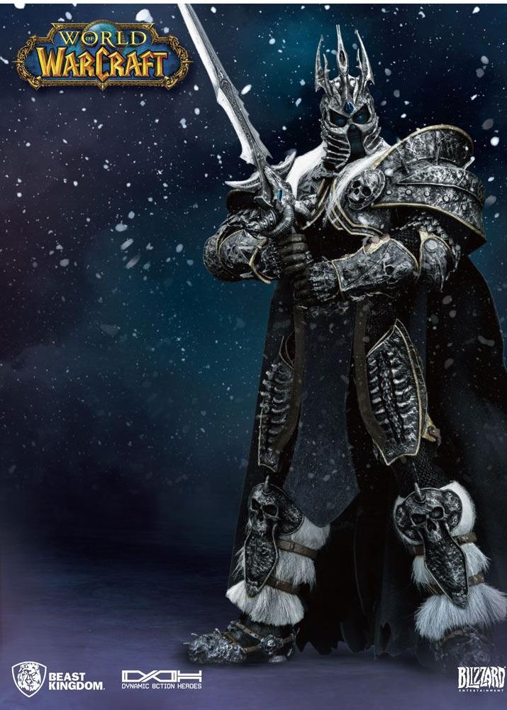 Figurka World of Warcraft - Lich King (21 cm, svítící oči) (PC)