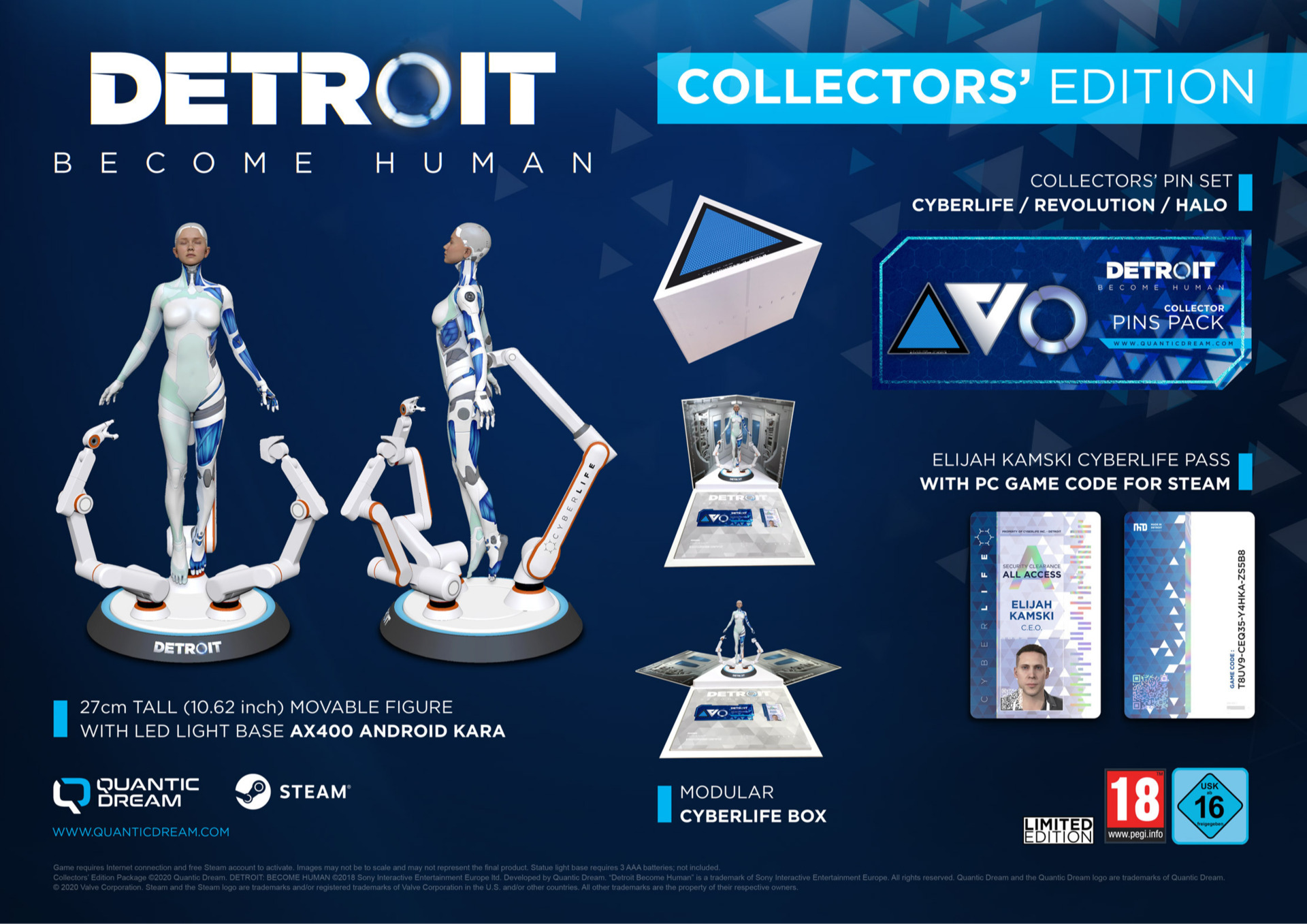 Detroit: Become Human - Collector's Edition (PC)