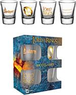 Skleničky The Lord of the Rings (set 4 ks panáků)