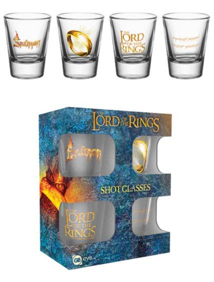 Skleničky The Lord of the Rings (set 4 ks panáků) (PC)