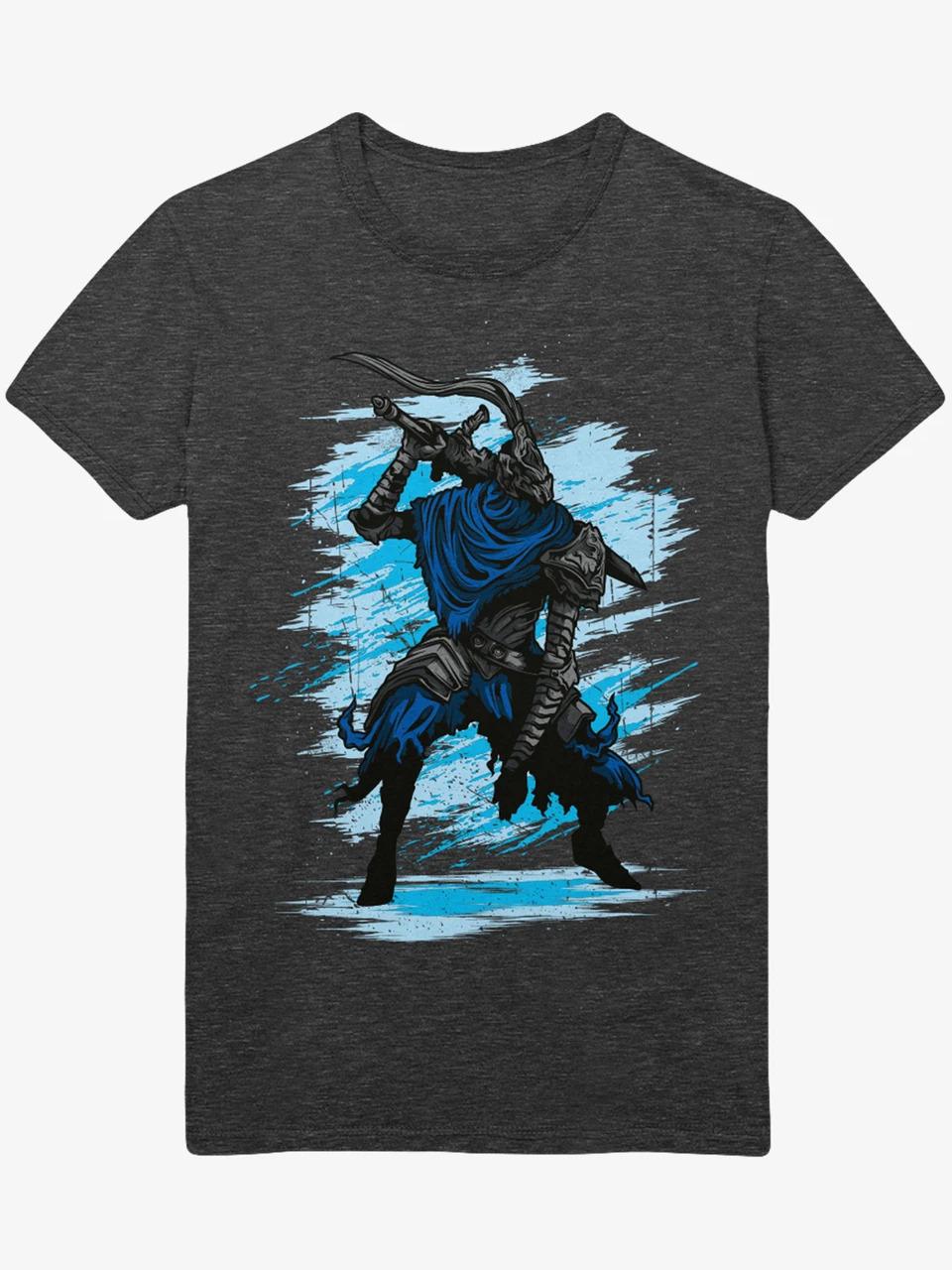 Tričko Dark Souls - Sir Artorias (velikost M)