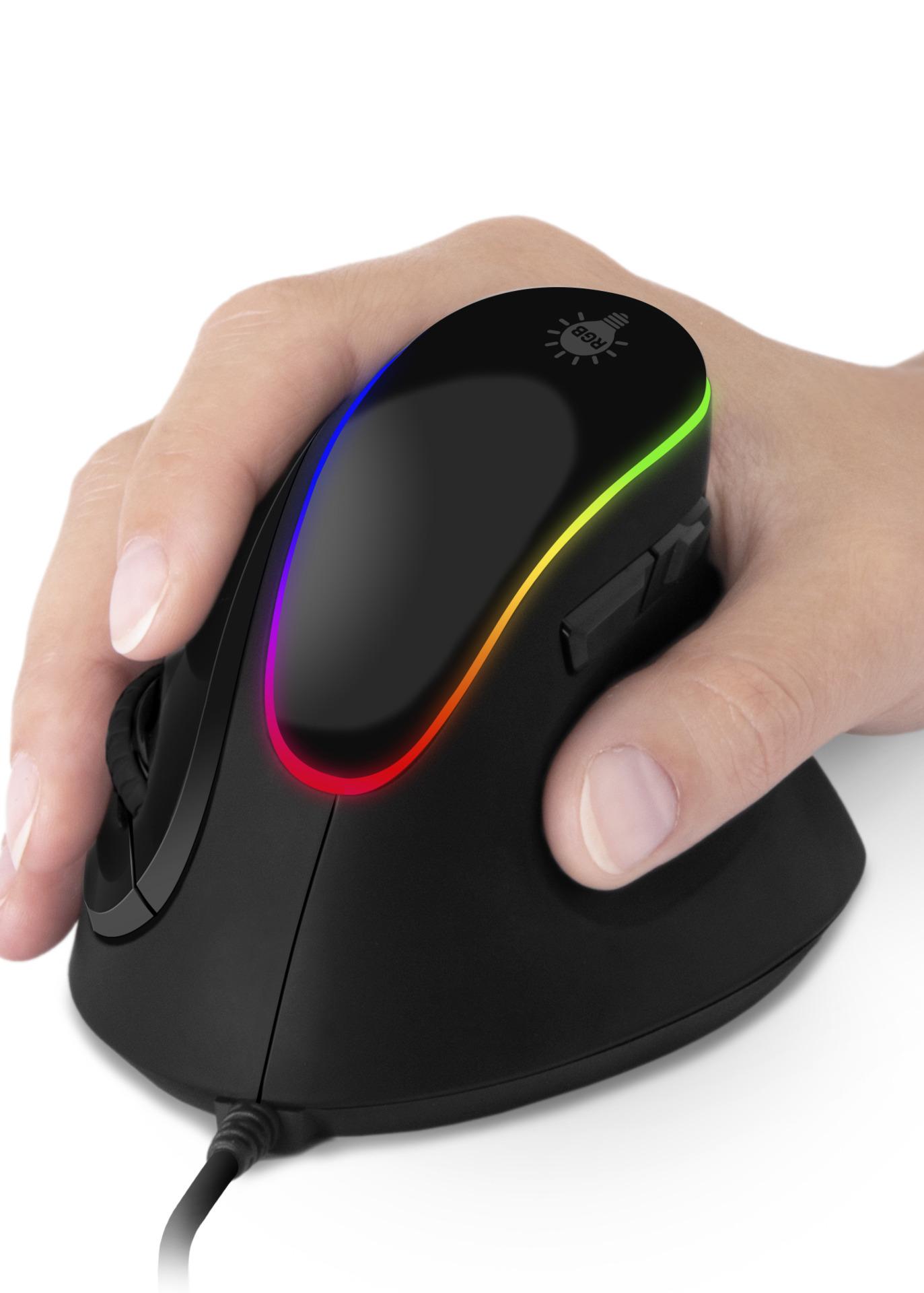 Herní myš Connect IT Game for Health (ergonomická vertikální) (PC)