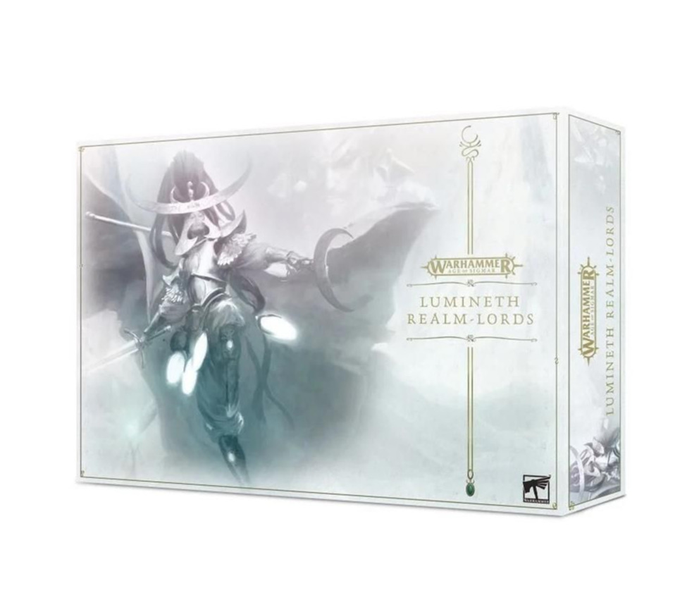 W-AOS: Lumineth Realm Lords Launch Set (16 figurek) (PC)