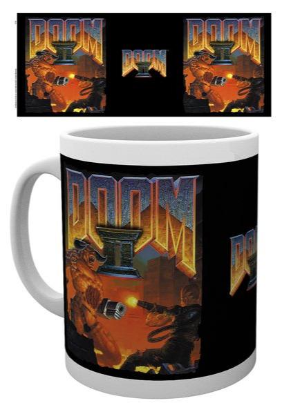 Hrnek Doom - Doom II Cover (PC)