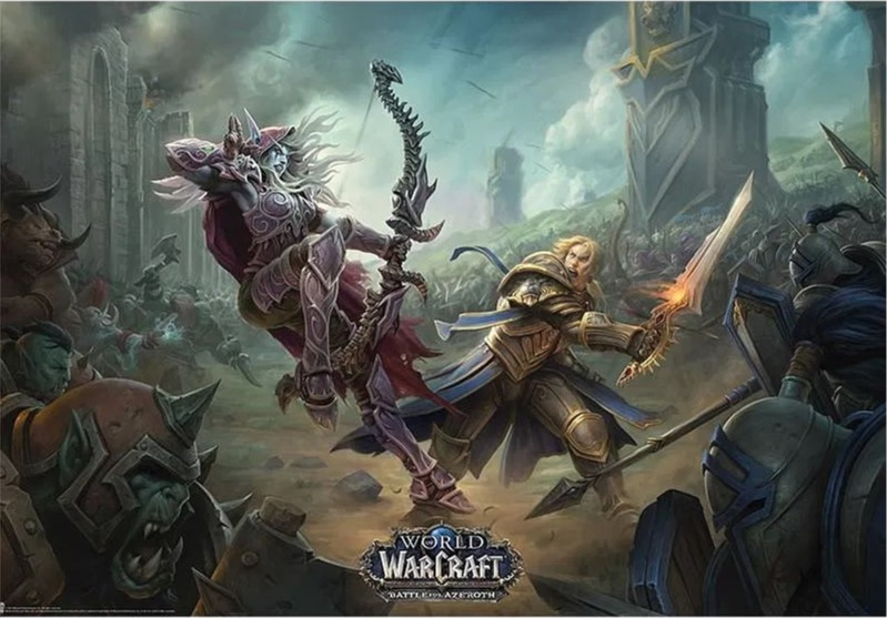 Plakát World of Warcraft - Battle for Azeroth (PC)