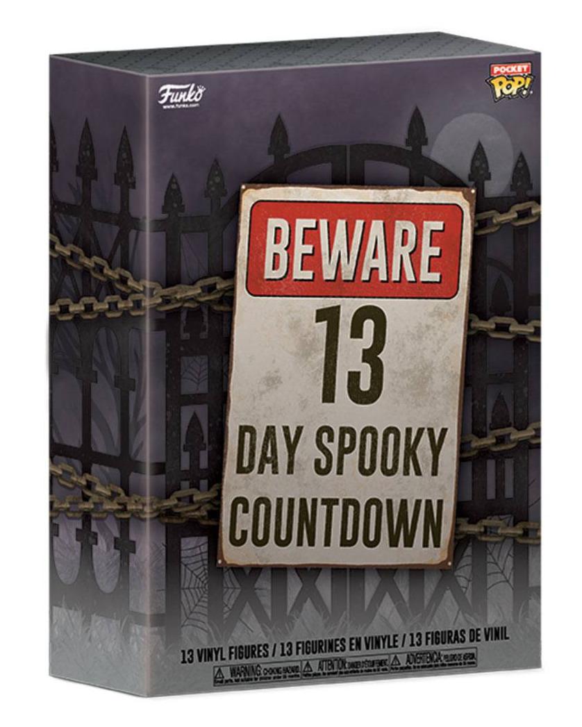 Kalendář s figurkami Halloween (Funko Pocket POP!) (PC)