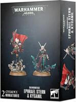 W40k: Daemonifuge - Ephrael Stern and Kyganil (2 figurky)