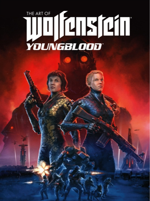 Kniha The Art of Wolfenstein: Youngblood (PC)