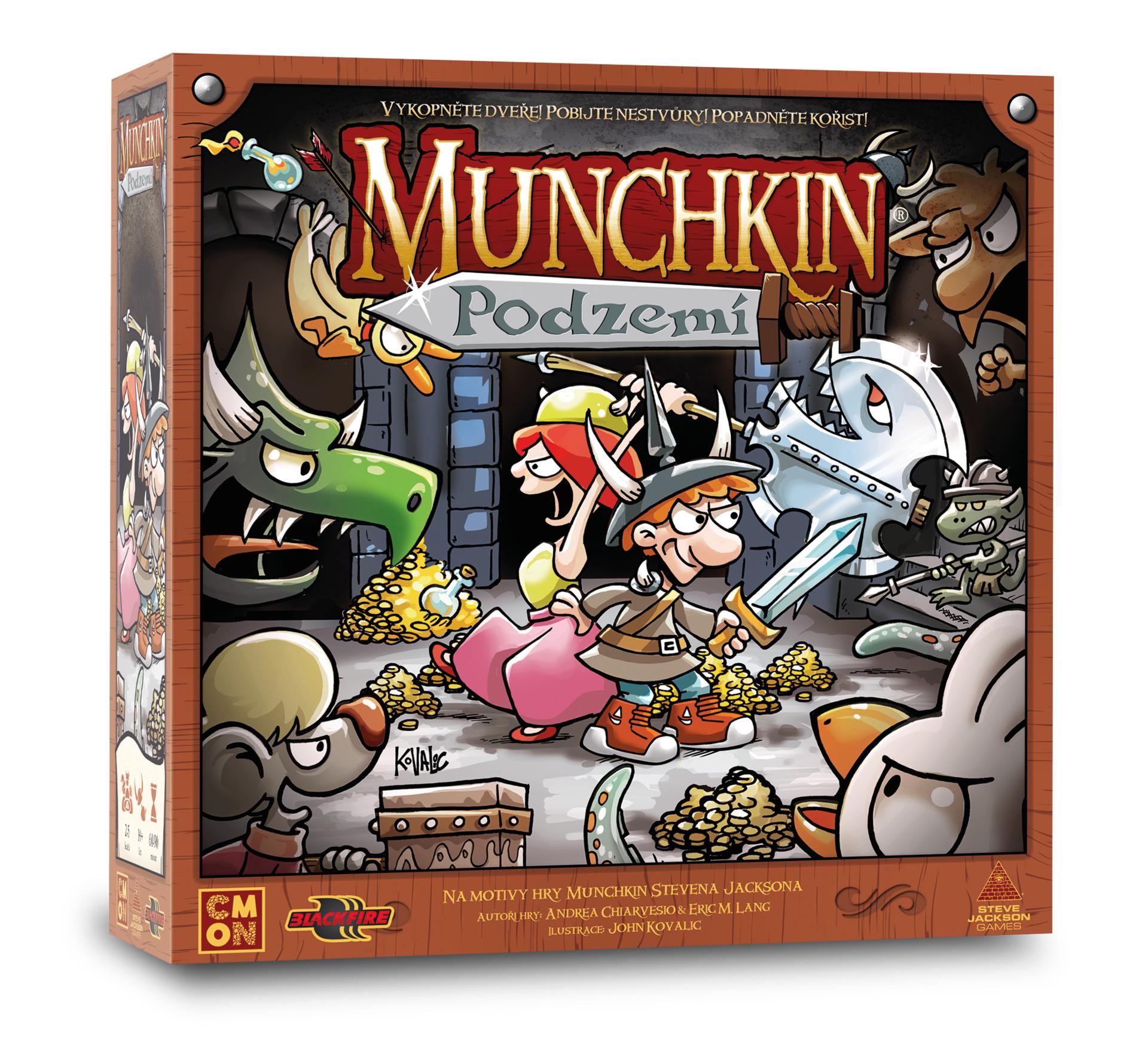 Desková hra Munchkin: Podzemí (PC)