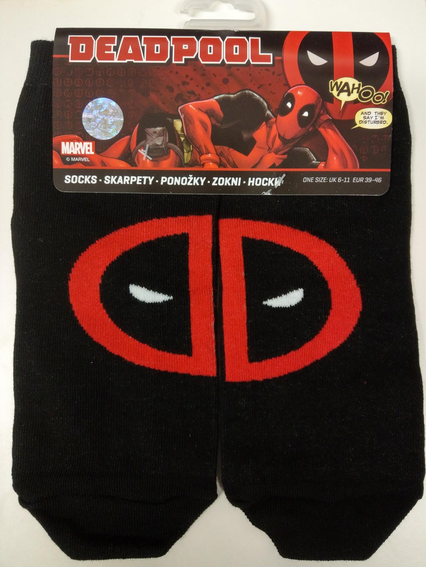 Ponožky Deadpool - Ankle Socks (PC)