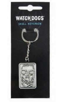 Klíčenka Watch Dogs - Skull (PC)