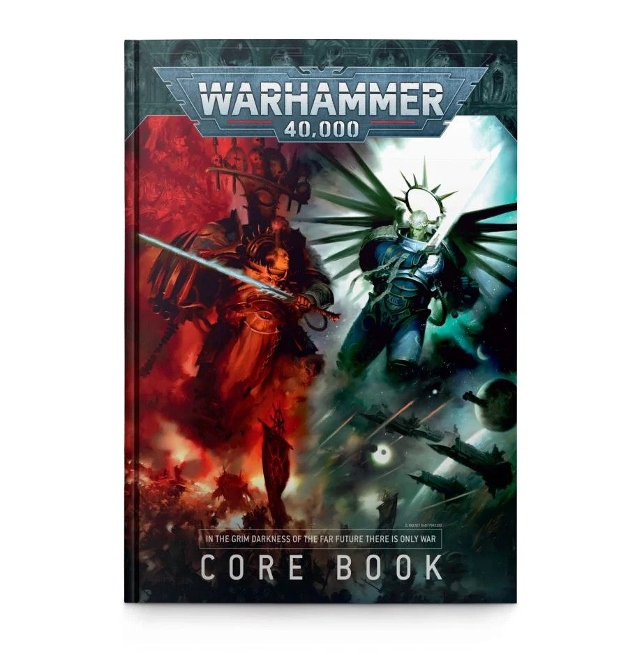 W40k: Warhammer 40.000 Core Book (PC)