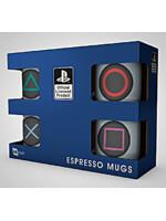 Hrnek PlayStation - Espresso Sada - 4 ks