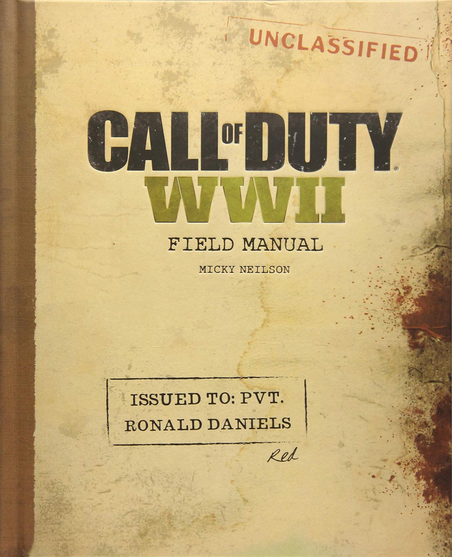 Kniha Call of Duty: WWII - Field Manual (PC)