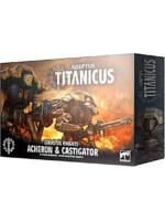 W40k: ADEPTUS TITANICUS Cerastus Knights Acheron and Castigator (4 figurky)