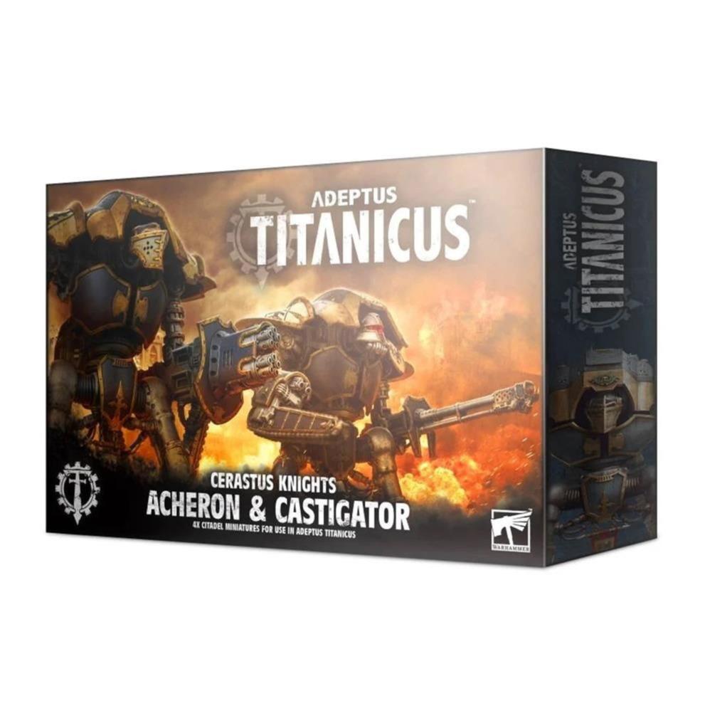 W40k: ADEPTUS TITANICUS Cerastus Knights Acheron and Castigator (4 figurky) (PC)