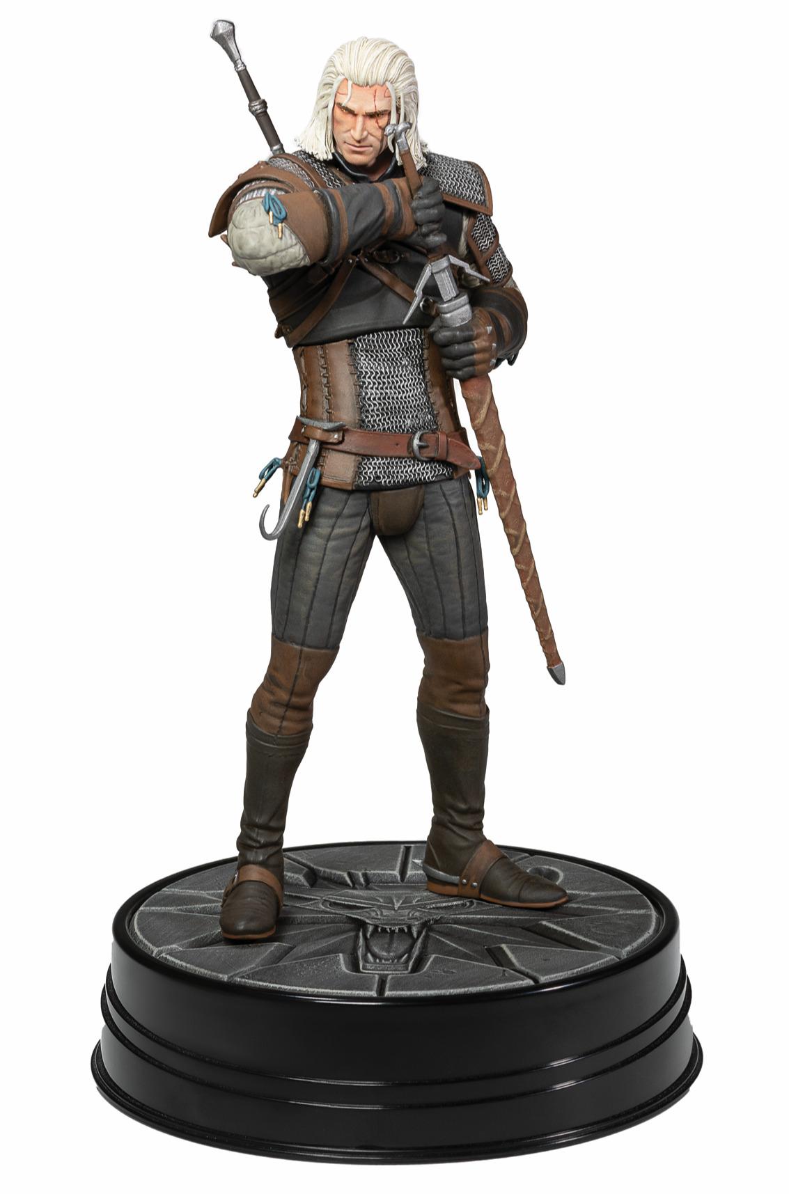 Figurka Zaklínač 3 - Geralt z Rivie Deluxe (2. série) (PC)