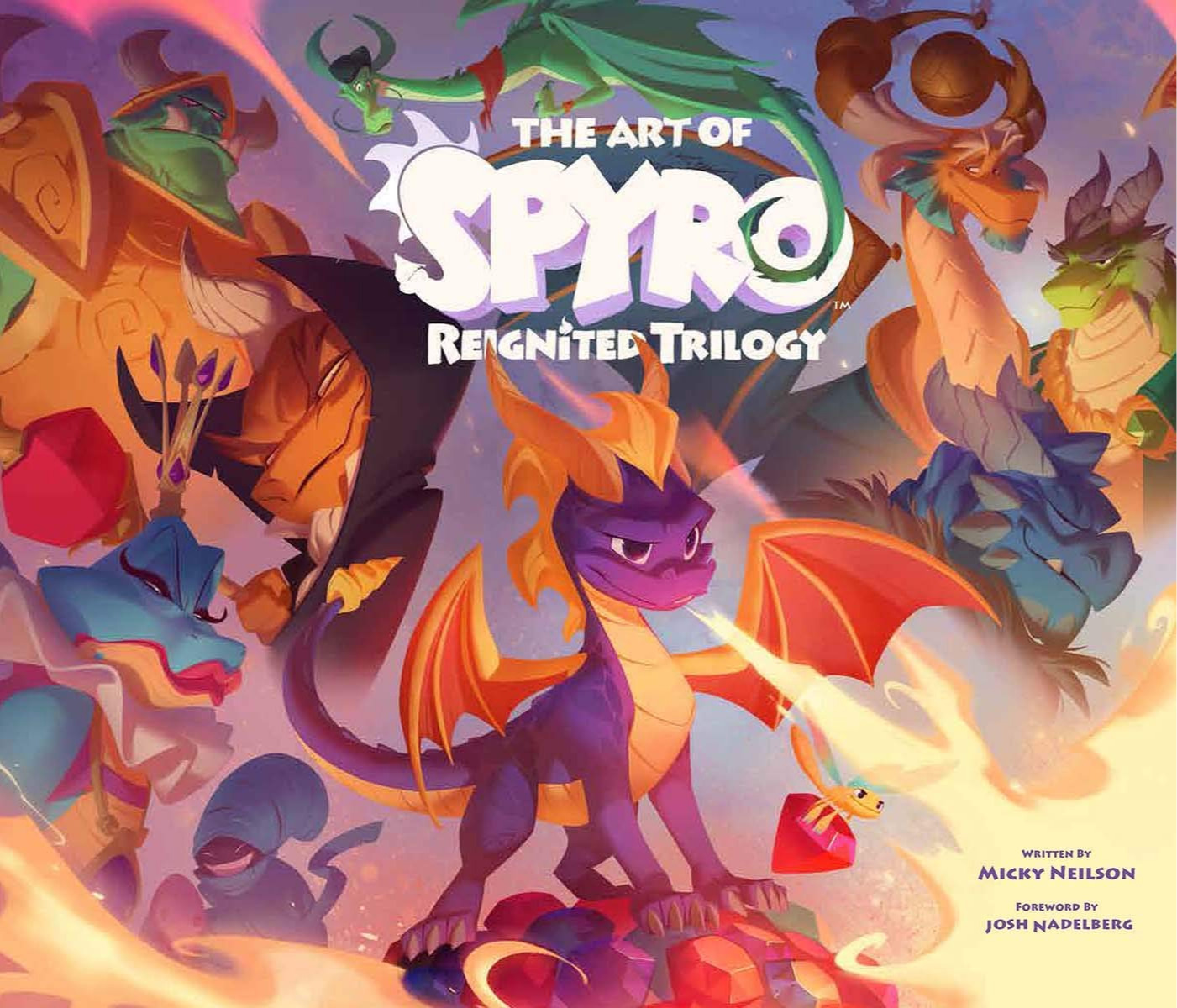 Kniha The Art of Spyro: Reignited Trilogy (PC)