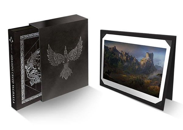 Kniha The Art of Assassins Creed: Valhalla - Deluxe Edition
