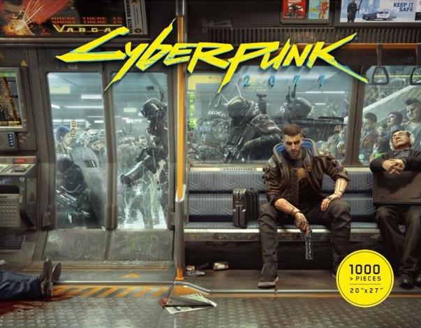 Puzzle Cyberpunk 2077 - Metro Life (PC)