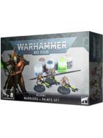 W40k: Necrons - Warriors + Paint Set
