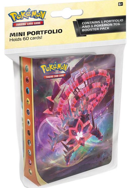 Karetní hra Pokémon TCG: Sword and Shield Darkness Ablaze - Mini Album + booster (10 karet)