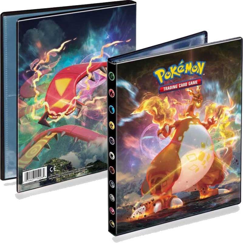 Karetní hra Pokémon TCG: Sword and Shield Darkness Ablaze - A5 Album (80 karet)