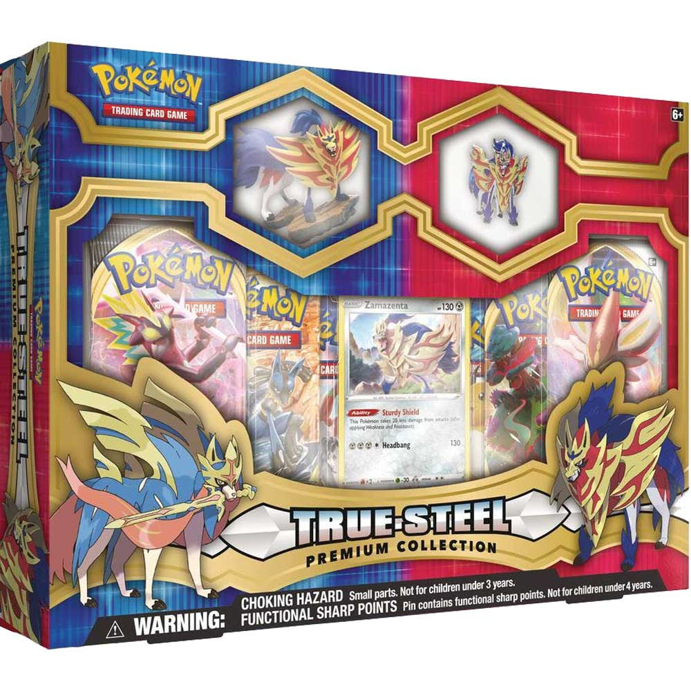 Karetní hra Pokémon TCG - True Steel Premium Collection (Zamazenta) (PC)